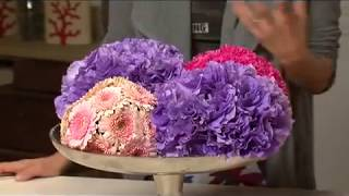 Easy To Make Flower Pomanders - Simple, Stylish & Elegant By Iris Natali Rosin -tv Show-eisuv+