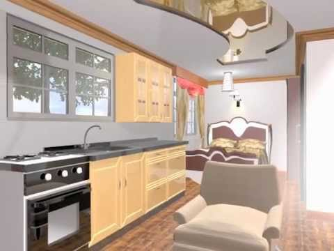 Kenya low cost housing bedsitter  YouTube