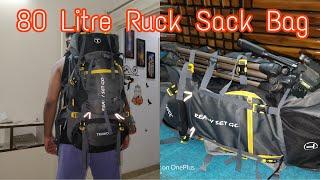 Trawock 80 Litre backpack for Hiking & Trekking (Big Bagwati)