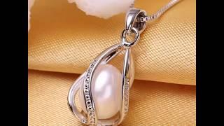 Ювелирные изделия из жемчуга. / pearl jewelry.pearl pendant jewelry