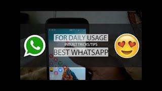 Whatsapp Awesome tricks 2018 | Hindi |