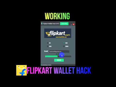 flipkart ewallet hack tool free download