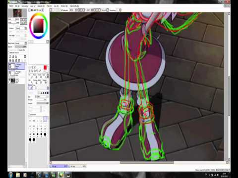 Speed Painting Amy Rose To Shadow The Hedgehog Youtube