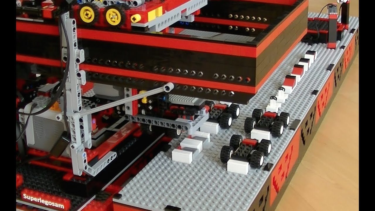 The Ten Most Insane LEGO Mindstorms Creations
