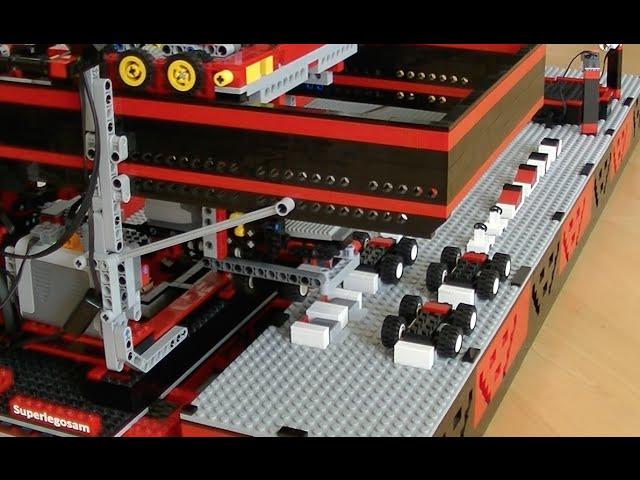 Lego Car Factory Churns Out Tiny Cars 95 Octane