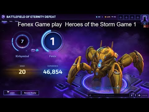 Heroes of the Storm Live Stream Fenex Game play