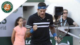 Juan Martin Del Potro vs Nicolas Mahut - Round 1 Highlights I Roland-Garros 2018