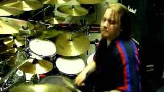"Hanoi Rocks""Tragedy"" Drum Cover By bastian schallschmidt."