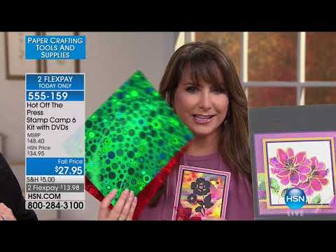 HSN   Paper Crafting Tools & Supplies 09.15.2017 - 06 PM