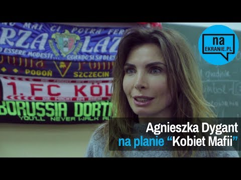 """[Na planie] Rozmawiamy z Agnieszką Dygant na planie filmu """"Kobiety Mafii""""`"""