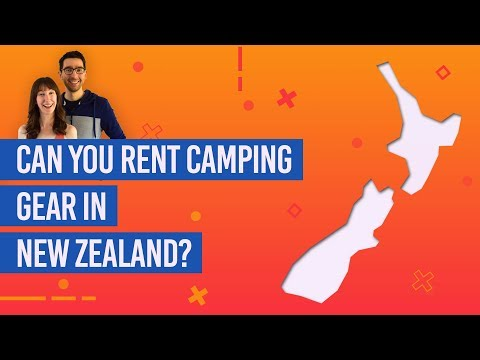 Can You Rent Camping Gear In New Zealand?