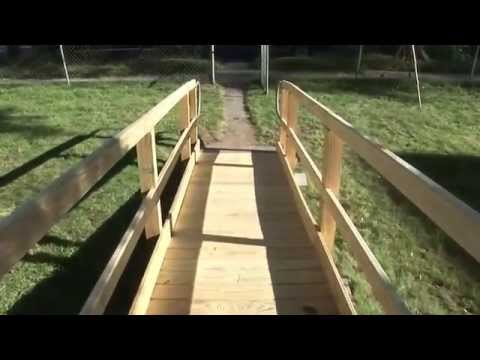 Wooden Modular Wheelchair Ramps | Mobility123