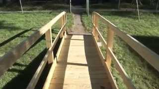 Video Wooden Modular Wheelchair Ramps | Mobility123 download MP3, 3GP, MP4, WEBM, AVI, FLV Desember 2017