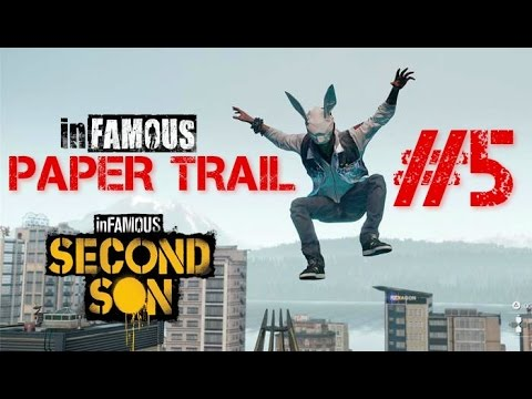 inFamous Paper Trail Türkçe Gameplay #5