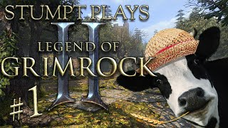 Stumpt Plays - Legend of Grimrock 2 - #1 - Ash the Farmer