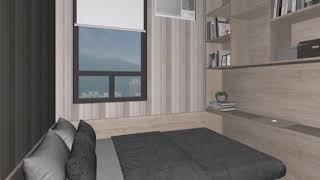 新居屋 啟朗苑全屋設計 3D圖實景對照 間隔適用新居屋 #啟朗苑 #凱樂苑#彩興苑