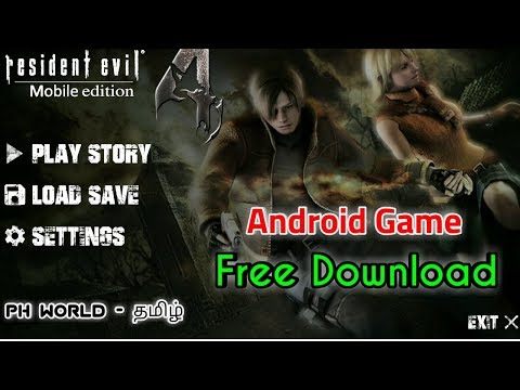 Resident Evil 4 Original Version Android Game Free Downoad In Tamil 2018 - PH World