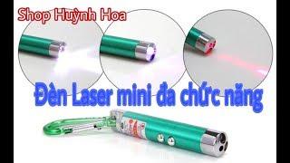 Đèn Laser mini đa chức năng | Bút Laser Trình chiếu | Đèn pin soi sáng