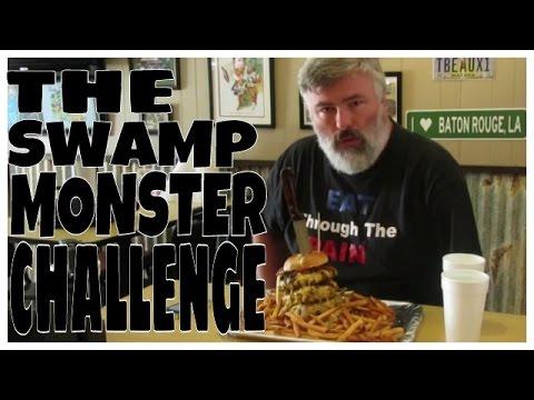 Big Eater Mike VS The Swamp Monster