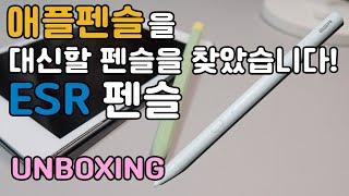 가성비 짭슬펜슬! 4만원대 아이패드 ESR 펜슬 추천