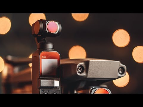 DJI OSMO POCKET BEST CINEMATIC SETTINGS With FREEWELL ND FILTERS In CINELIKE D
