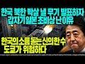 한국 북한 박살 낼 무기 발표하자 갑자기 일본 초비상 난 이유 한국의 소름 돋는 신의 한 수 도쿄가 위험하다 [ENG SUB]