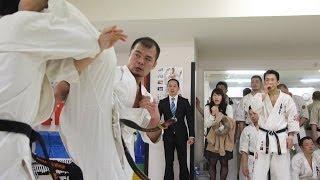 2014年3月2日に総本部道場で行われた花田亨治による昇段組手です。 The ...