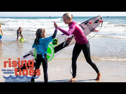 Vans US Open Of Surfing - Rising Tides: WSL's Girls Program