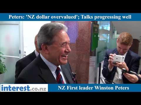 Peters on NZ dollar