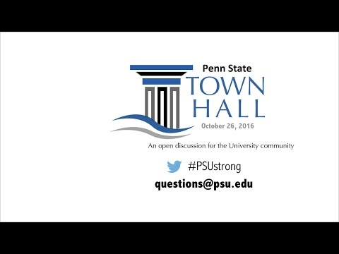 Penn State Diversity and Inclusion Town Hall