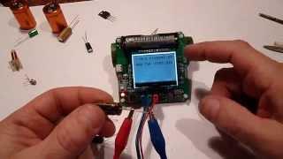 VovaMasterZvuk - Мультиметр  тестр для замера ESR конденсаторов, транзисторов.(VovaMasterZvuk - Мультиметр тестр для замера ESR конденсаторов, транзисторов. Ремонт, апгрейд аудио техники. Нахожу..., 2015-04-12T22:33:19.000Z)