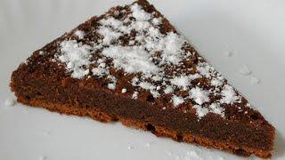Шоколадный кекс-пудинг
