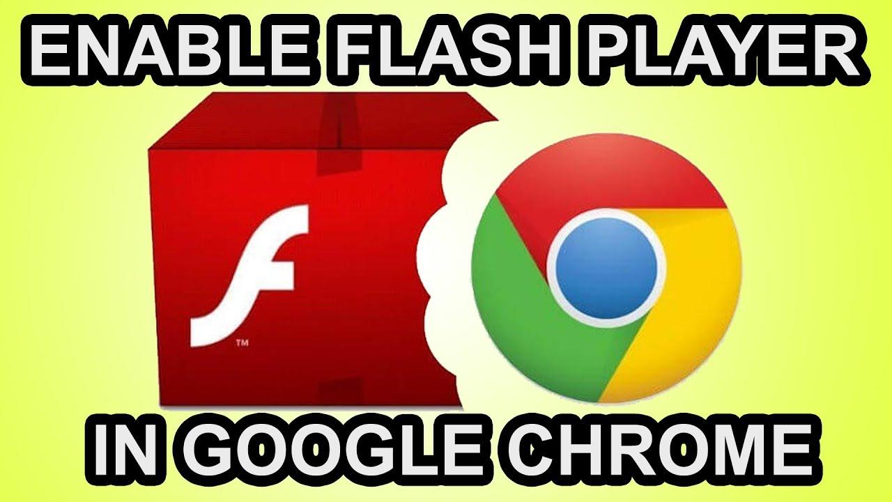como activar adobe flash player en chrome
