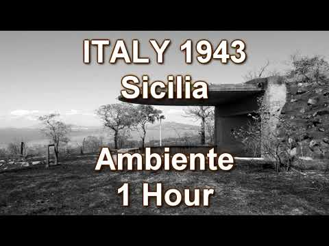 WWII Ambiente 1 Hour Italy Sicilia Sea Gun Shots Tanks Vehicles Water Explosions