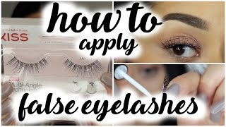 How To Apply Eyelashes | Beginners Series
