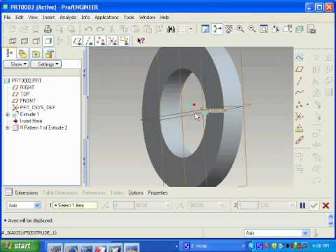 Animation Mechanisam On Proe Through Servo
