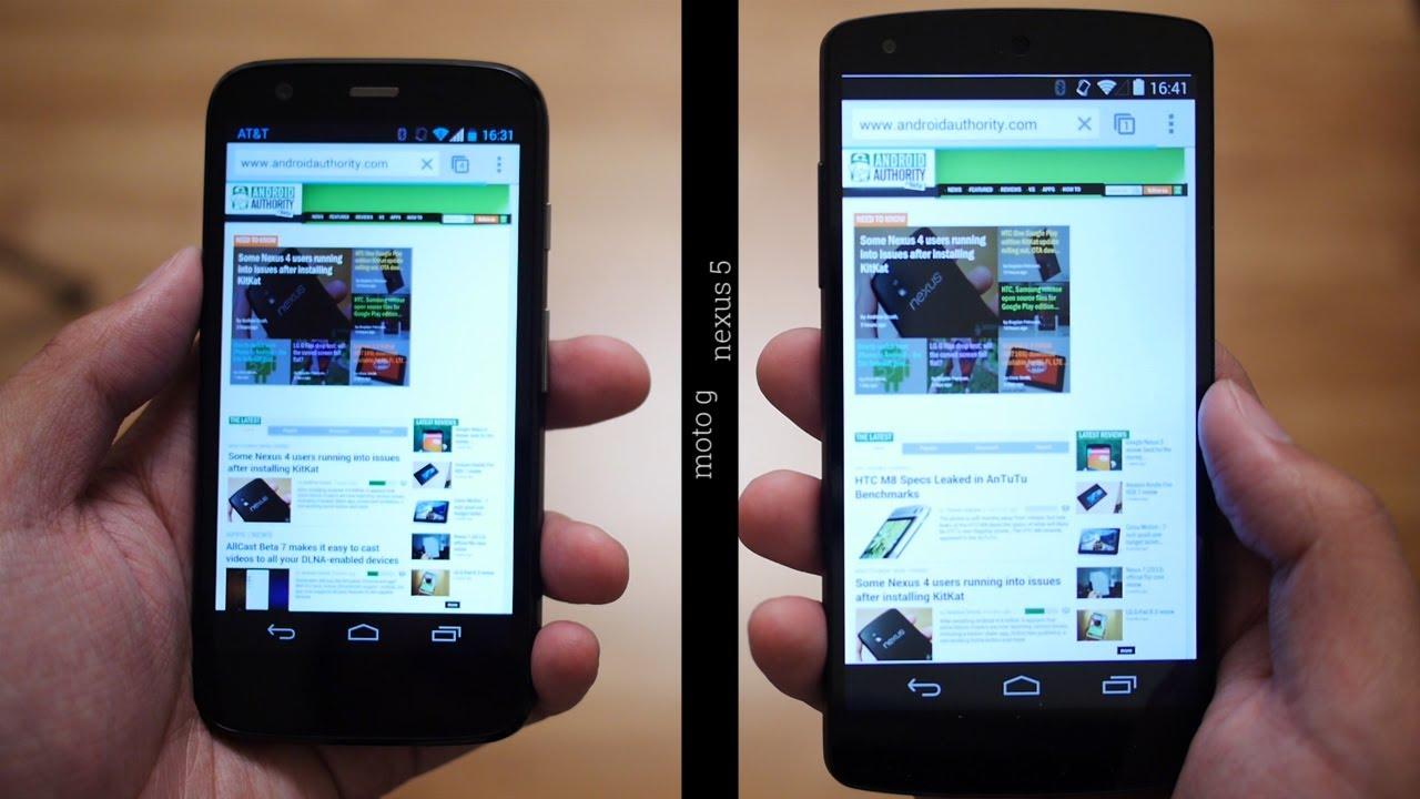 Moto g speed test with nexus 5 youtube ccuart Gallery