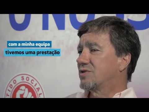 Jorge Bugalho na apresentação da sua candidatura à freguesia de Alhadas Brenha