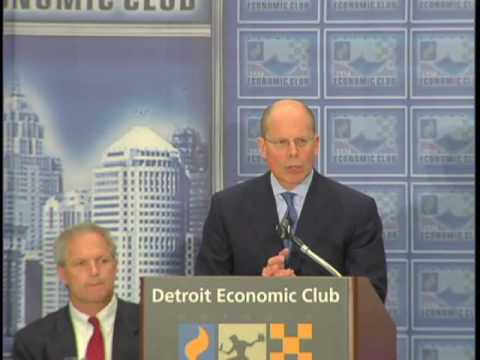 Stephen Hemsley, UnitedHealth Group, at the Detroit Economic Club
