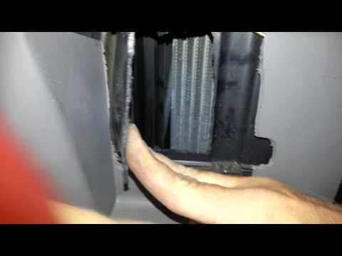 Ford Expedition F150 blend door stuck hot