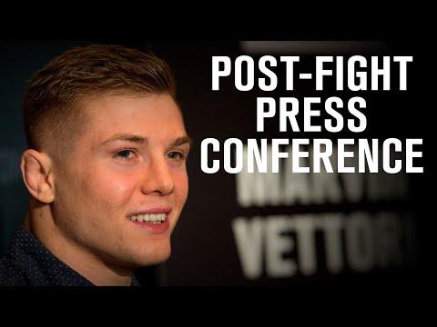 UFC Vegas 23: Post-fight Press Conference