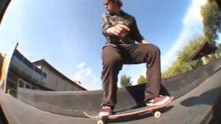 Cory Kennedy skates the new Seattle Center park