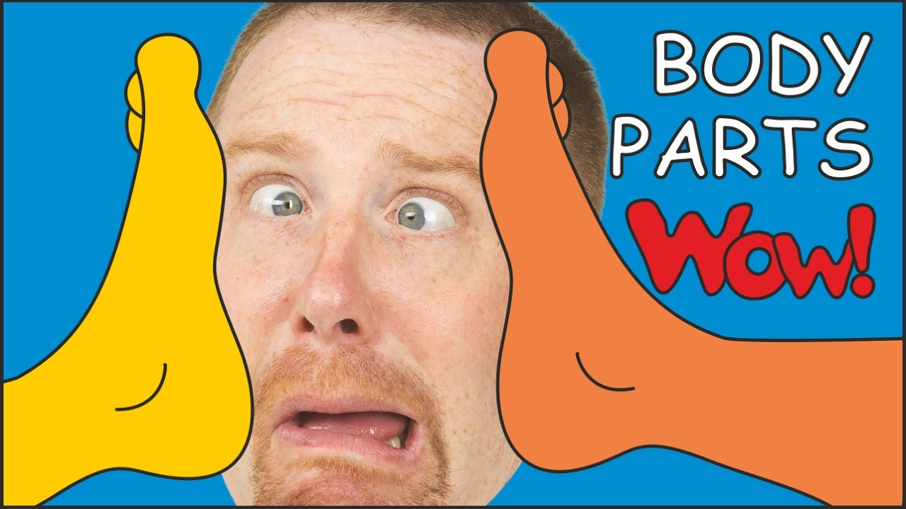 Download Body Parts for Kids NEW | Magic English Stories for Children from Steve and Maggie | Wow English TV