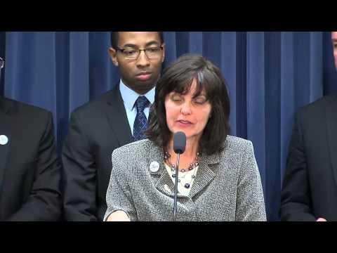 Illinois Senate Bill 1 (education funding reform) press conference