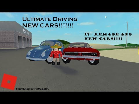 ROBLOX: Ultimate Driving 3.0 NEW UPDATES!!!!! NEW CARS!!!!!!