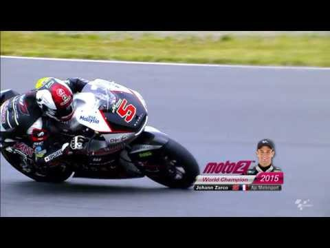 2015 Moto2 World Champion: Johann Zarco