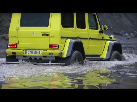 Chris Harris Drives The Mercedes G500 4x4 Squared | Top Gear