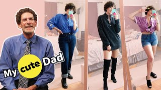 We Styled Our Dads' Clothing For A Week
