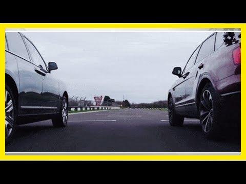Bentayga Beats Cullinan in a Drag Race - Rolls-Royce vs. Bentley SUV | k production channel