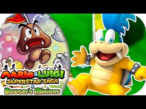 ¡RESCATANDO a Larry Koopa!   [3DS] Mario & Luigi + Secuaces de Bowser   Ep. 31 con --ALEX--